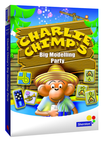 Charlie Chimp's Big Modeling Party