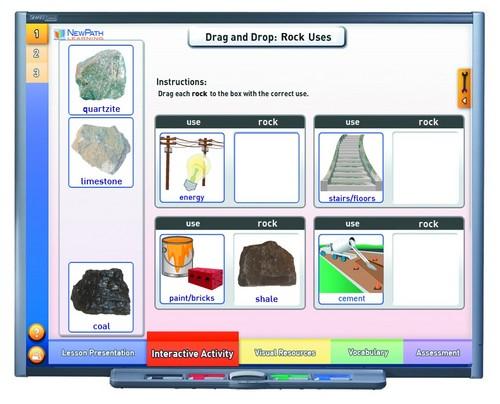 Rocks Multimedia Lesson