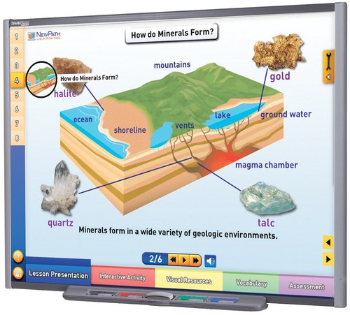 Minerals Multimedia Lesson (Site License)
