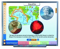 Volcanoes Multimedia Lesson (Site License)