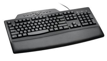 Pro Fit Wired Comfort Keyboard (Black)