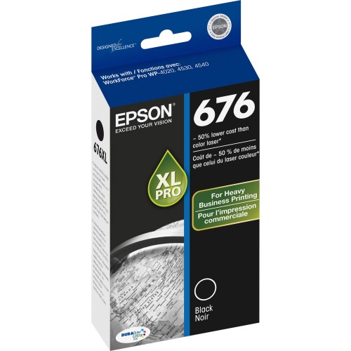 676XL Ink Cartridge (Black)