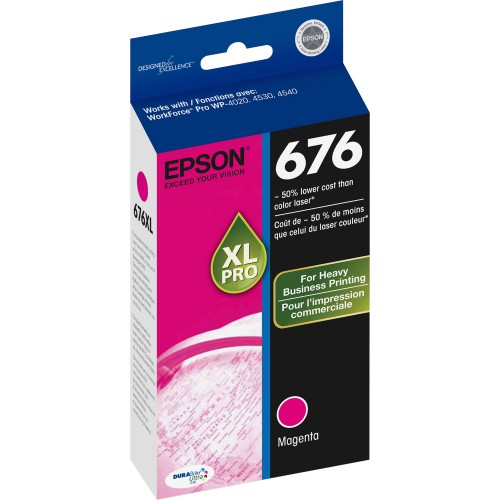 676XL Ink Cartridge (Magenta)