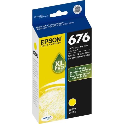 676XL Ink Cartridge (Yellow)