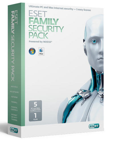 ESET Family Security Pack 5 Devices/1 Year