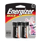 Energizer Max C Alkaline Batteries (2 Pack)
