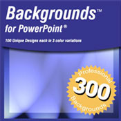 JMDesigns: 300 Backgrounds for PowerPoint - Volume 1 (Win) (Electronic Software Delivery)