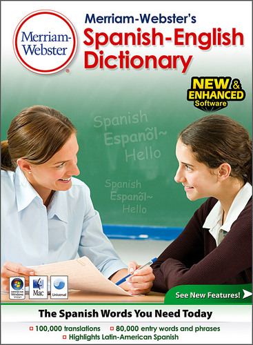 Merriam Webster's Spanish-English Dictionary (Electronic Software Delivery)
