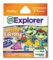 Explorer Game Cartridge: Letter Factory