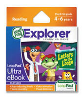 LeapPad Ultra eBook Cartridge: Letters on the Loose