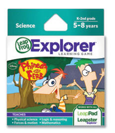Explorer Game Cartridge: Disney Phineas and Ferb