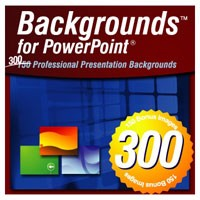 300 Backgrounds for PowerPoint - Volume 3 (Win) (Electronic Software Delivery)