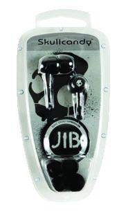 Skullcandy Jib In-Ear Earbud Headphones Black