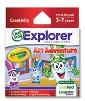 Explorer Learning Game: Crayola Art Adventure