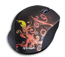 Wireless Optical Design Mouse (Burnt Orange)