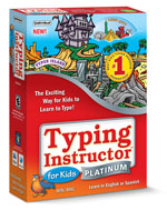 Typing Instructor for Kids Platinum 5 (Home Edition) (Win/Mac) (Electronic Software Delivery)