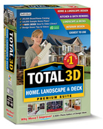Total 3D Home Landscape & Deck Premium Suite 11 (Home Edition) (Electronic Software Delivery)