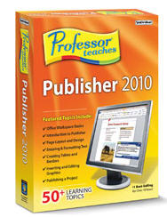 Professor Teaches Publisher 2010 (Home Edition) (Electronic Software Delivery)