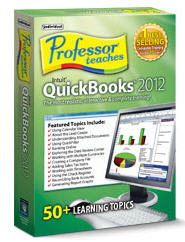 Professor Teaches QuickBooks 2012(Home Edition) (Electronic Software Delivery)