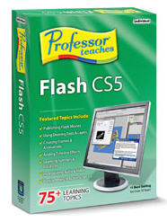 Professor Teaches Flash Professional CS5 (Home Edition) (Electronic Software Delivery)