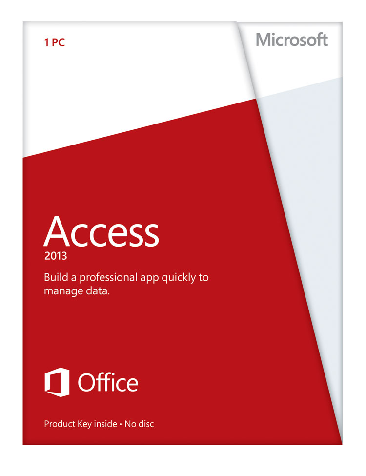 Access 2013 (Product Key Card Only) for Win