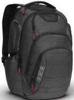 "17"" Renegade RSS Backpack (Black Pindot)"