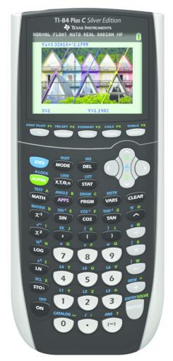 TI84 Plus C Silver Edition Graphing Calculator