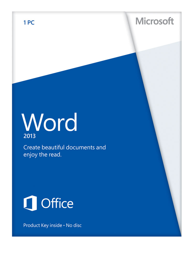 Word Home & Student 2013 (Product Key Card Only) for Win