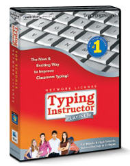 Typing Instructor Platinum 21 Network 20-User License Perpetual Windows