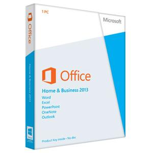 Microsoft® Office Home and Business 2013 (Product Key Card Only) for Win
