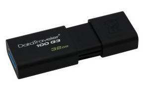 32GB DataTraveler 100 G3 USB 3.0 Flash Drive