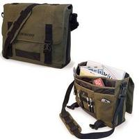 "14"" to 15""  Eco Friendly Utlrabook Messenger Bag (Olive)"