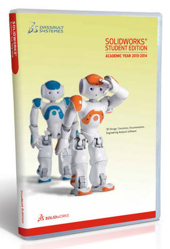SolidWorks Student Edition 2013-2014 (12 Month License)