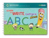 LeapReader Book: Learn to Write Letters with Mr Pencil