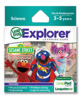 Explorer Game Cartridge: Sesame Street: Solve It with Elmo, Abby & Super Grover 2.0!
