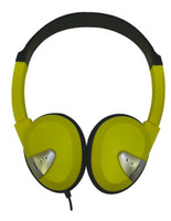 Lightweight On-Ear Headphones (Yellow)