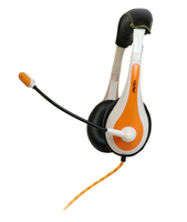 AE-36 On-Ear Headset with Microphone (Orange)