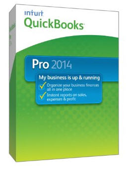 QuickBooks Pro 2014 3 Users for Win