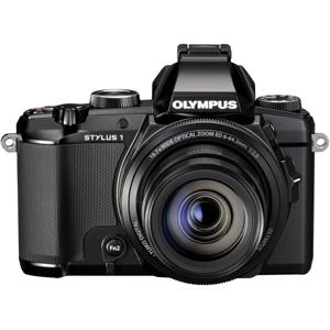 STYLUS 1 Bridge 12 Megapixel Digital Camera (Black)