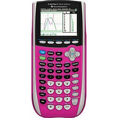 TI84 Plus C SE (Pink)