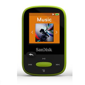 8GB Clip Sport MP3 Player (Lime)