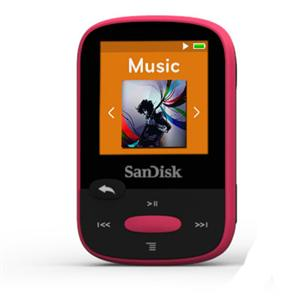 8GB Clip Sport MP3 Player (Pink)