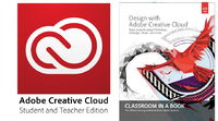 Creative Cloud Student and Teacher Edition with Classroom in a Book's Design with Adobe Creative Cloud (­One Year Subscription)