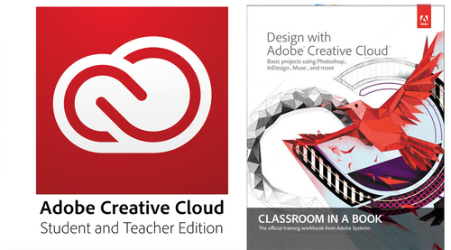 Creative Cloud Student and Teacher Edition with Classroom in a Book's Design with Adobe Creative Cloud (One Year Subscription)