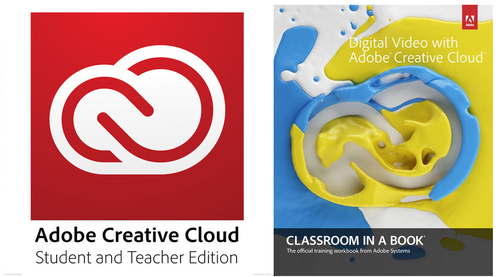Creative Cloud Student and Teacher Edition with Classroom in a Book's Digital Video with Adobe Creative Cloud (­One Year Subscription)
