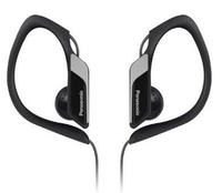 Panasonic RP-HS34 Water/Sweat Resisant In Ear Sports Headphone (Black)