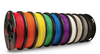 10 Pack PLA Filament (.5lb 1.75mm/1.8mm) (True Color)