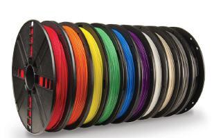 10 Pack PLA Filament Large Spool (1.75mm/1.8mm) (True Color)
