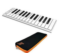 CME Xkey 25-key Mobile Keyboard Controller with Supernova Xkey Protection Carrying Case