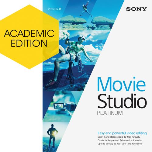 Movie Studio Platinum 13 (Academic) (Electronic Software Delivery)